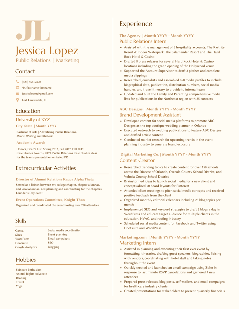 sample design resume