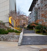 Emory University Buildings Alley Way